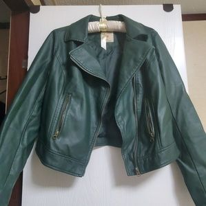 Ruff Hewn Faux Leather Jacket